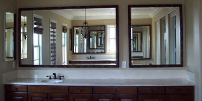 Custom Bathroom Mirrors Made To Your Exact Size - Ship Safely Anywhere In The USA