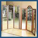 Custom Three Panel Mirrors