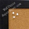Charcoal color enclosed wallboards