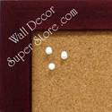 Mahogany color custom enclosed cork bulletin boards, magnetic white dry erase enclosed wallboards