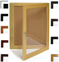 BBC202 Single Door Bulletin Board Cabinet Available in 11 Colors