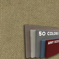 FW800-WW1  Neutral Light Brown - Wide Weave Textured Hook And Loop
