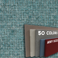 FW800-WW7  Wedgewood Blue - Wide Weave Textured Hook And Loop