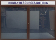 Human Resources Enclosed Wallboards
