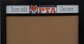 custom header boards for schools and pts's