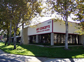 Artconcepts Walldecor Superstore Factory and Warehouse Store in Laguna Hills California