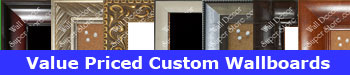 Custom wallboards, cork bulletin boards, white dry erase boards, black chalk boards - made to your size