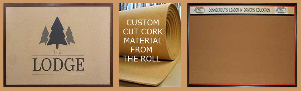 Custom cork memo boards