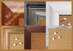 Shop cork boards by the width of the frame