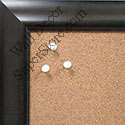 BB1516-4 Gray - Large Wall Board Cork Chalk Dry Erase