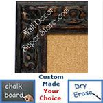 BB1416-2 Distressed Brown Medium To Extra Large Custom Cork Chalk Or Dry Erase Board