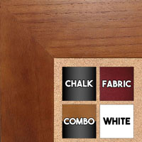 BB1510-3 Cherry Wood Grain Large Custom Wall Boards Chalk Cork Dry Erase