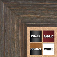 BB1514-2 Gray Distressed Barnwood - Extra Extra Large Wall Board Cork Chalk Dry Erase