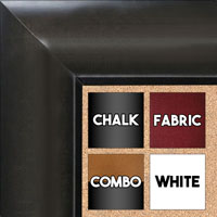 BB1517-4 Gray - Extra Large  Wall Board Cork Chalk Dry Erase