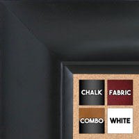 BB1522-9 Black Extra Extra Large Wall Board Cork Chalk Dry Erase