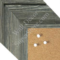 BB1547-1 Distressed Gray Driftwood - Medium To Extra Extra Large Custom Cork Chalk Or Dry Erase Board