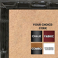 BB1551-2 Ornate White Extra Large Wall Board Cork Chalk Dry Erase