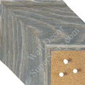 BB1554-1 Distressed Gray Driftwood - Extra Extra Large Chalkboard  Cork  Dry Erase