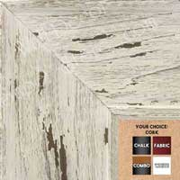 BB1554-4 Distressed White Driftwood - Extra Extra Large Chalkboard  Cork  Dry Erase