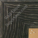 BB1554-5 Distressed Black Driftwood - Extra Extra Large Chalkboard  Cork  Dry Erase