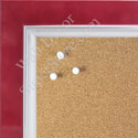 BB1561-1 Pearlized Red With Silver Lip Large Custom Cork Chalk or Dry Erase Board