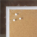 BB1561-4 Pearlized Chocolate With Silver Lip Large Custom Cork Chalk or Dry Erase Board