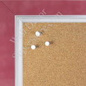 BB1561-9 Pearlized Carnation Pink With Silver Lip Large Custom Cork Chalk or Dry Erase Board