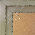BB1568-1 Glossy Distressed Ivory - Extra Large Custom Cork Chalk or Dry Erase Board