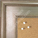 BB1577-2 Antique Champagne Silver - Extra Large Chalkboard Cork Dry Erase