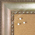 BB1579-2 Antique Champagne Silver - Extra Large Chalkboard Cork Dry Erase