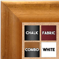 BB1659-3  Distressed Copper | Custom Cork Bulletin Board | Custom White Dry Erase Board | Custom Chalk Board