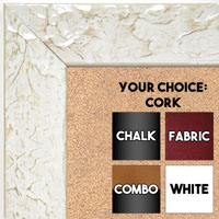 BB1692-2 | Glossy White / Design | Custom Cork Bulletin Board | Custom White Dry Erase Board | Custom Chalk Board
