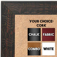 BB1702-3 | Black / Design | Custom Cork Bulletin Board | Custom White Dry Erase Board | Custom Chalk Board