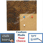 Bronze Cork Chalk Dry Erase Boards