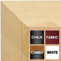 BB1755-1 | Unfinished Wood Frame | Unfinished Natural Wood Moulding - Paint or Stain | Custom Cork Board | Custom Chalk Board | Custom White Dry Erase Board