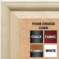 BB1760-1 | Unfinished Wood Frame | Unfinished Natural Wood Moulding - Paint or Stain | Custom Cork Board | Custom Chalk Board | Custom White Dry Erase Board