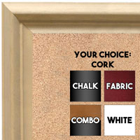BB1762-1 | Unfinished Wood Frame | Unfinished Natural Wood Moulding - Paint or Stain | Custom Cork Board | Custom Chalk Board | Custom White Dry Erase Board