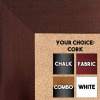 BB1846-2 | Bronze | Custom Cork Bulletin Board | Custom White Dry Erase Board | Custom Chalk Board