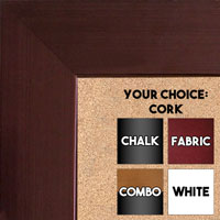 BB1846-4 | Bronze | Custom Cork Bulletin Board | Custom White Dry Erase Board | Custom Chalk Board