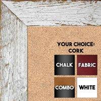 Reclaimed Look - Driftwood, Barnwood Chalkboards, Cork, Dry Erase, Combination Or Fabric Boards