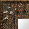 MR159-2 Ornate Light Copper - Bronze - Extra Extra Large Custom Wall Mirror Custom Floor Mirror