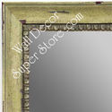MR1402-4 Distressed Spring Green - Medium Custom Wall Mirror Custom Floor Mirror