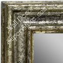 MR1418-1 Distressed Silver - Extra Large Custom Wall Mirror Custom Floor Mirror