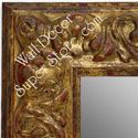 MR1421-1 Ornate Distressed Gold -  Extra Large Custom Wall Mirror Custom Floor Mirror