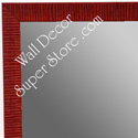 MR1430-3 Red - Very Small Custom Wall Mirror