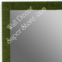 MR1430-4 Green - Very Small Custom Wall Mirror