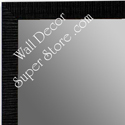 MR1430-5 Black - Very Small Custom Wall Mirror