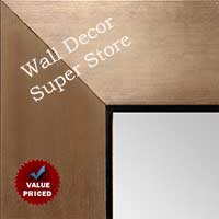 MR1431-3 Brushed Bronze With Black - Value Price - Extra Large Custom Wall Mirror  Custom Floor Mirror