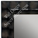 MR1463-1 Black With Dove Gray  - Large Custom Wall Mirror Custom Floor Mirror
