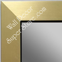 MR1494-1 BRUSHED GOLD WITH BLACK CUSTOM MIRROR  MR1LG